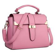 LaoZan Women Pu Leather Handbag Shoulder Bag Tote Messenger Purse Crossbody