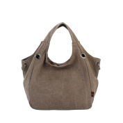 Clode® Women Canvas Hobo Bags High Quality Shopping Tote Candy Colour Shoulder Bags
