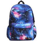Galaxy School Backpack, Galaxy Bag Unisex School Bag Collection Canvas Backpack