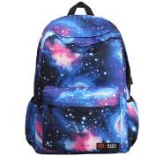 Galaxy School Backpack, Galaxy Bag Unisex School Bag Collection Canvas Backpack