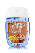 Bath & Body Works Scented Pocketbac Hand Gel Pumpkin Berry Crumble 29ml