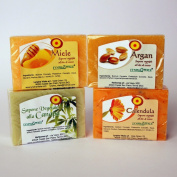 Kit 4 Moisturising soaps - value pack
