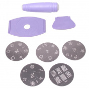 Linkings Nail Art Stamping Kit Stamp Beauty Tool