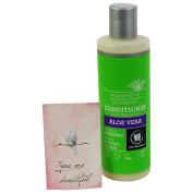 URTEKRAM - Organic Aloe Vera Conditioner - Regenerates & softens the hair - VEGAN