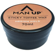 man up sticky toffee wax 70ml