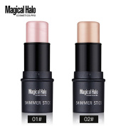 Magical Halo Face Waterproof Shimmer Highlighter Stick Bronzers Highlighter Powder Creamy Texture Contour Concealer Silver Bronzer 3D Makeup