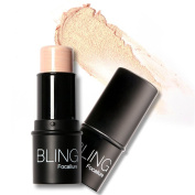 ROMANTIC BEAR Highlighter Stick Makeup Shimmer Powder Cream Waterproof Face Lighting Glow 2 Colours