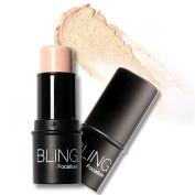 ROMANTIC BEAR Highlighter Stick Makeup Shimmer Powder Cream Waterproof Face Lighting Glow 2 Colours