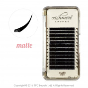 CASHMERE LASHES® MATTE Lightest Lash Luxury Individual Eyelash Extensions C curl