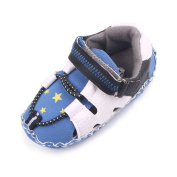 Baby Boys Autumn Pu Leather Rubber Bottom Soft Sole Prewalker Toddler Crib Shoes
