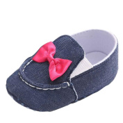 For 0-12Months Girls ,Clode® Baby Bowknot Denim Toddler Princess First Walkers Girls Kid Shoes