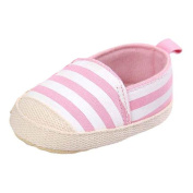 For 0-18 Months Girls ,Clode® Stripe Canvas Shoe Baby Boys Shoes Sneaker Anti-slip Soft Sole Toddler