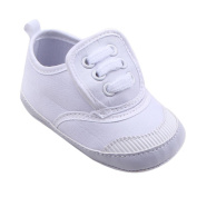 For 0-18 Months Boys Girls ,Clode® Baby Girls Canvas Shoe Sneaker Anti-slip Lace Up Soft Sole Toddler