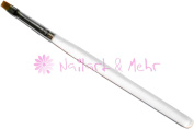 + Top Price + Brush for UV Gel Brush and One-Stroke Painting Size 6 Transparent Built Up Handle