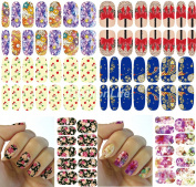 Nail Art Water Transfer Stickers Nail Sticker set #260 Nail Sticker Tattoo - FashionLife