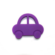 Coskiss Silicone Rattle Baby Teething Toys Safe And Natural Car Shaped Nursing Necklace DIY Crafts For Mommy Baby Teether