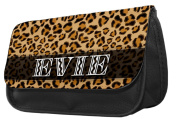 Personalised Leopard Print Pencil Case / Make up bag 164