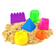 6pcs Assorted Sand Castle Moulds