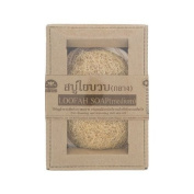 Khaokho Talaypu : Natural Loofah Soap Bar (Medium) 1 Bar Product of Thailand