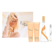 Nude by Rihanna for Women 4 Piece Set Includes