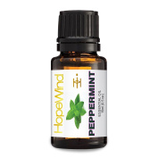 Peppermint 100% Pure Essential Oil, Best Quality, Therapeutic grade, Undiluted, Organic essential oil, 15ml/0.5oz-by HopeWind Health