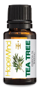 Tea Tree 100% Pure Essential Oil, Best Quality, Therapeutic grade, Undiluted, Organic essential oil, 15ml/0.5oz-by HopeWind Health
