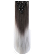 8 Pieces 3/4 Full Head Clip in Hair Extensions