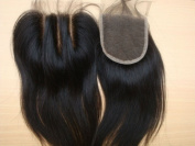 """Obzer USA7A Brazilian Virgin Hair Front Lace Closure Human Straight Hair Extensions Remy Hair 130% Density 4""""4"""""""