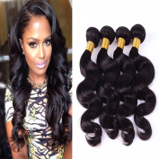 Mixed-Length Body Wave 100% Virgin Remy Brazilian Human Hair,4 Bundles/400g