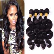 Mixed-Length Body Wave 100% Virgin Remy Brazilian Human Hair,4 Bundles/400g