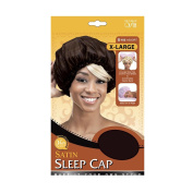Qiftt X-Large Satin Sleep Cap #152 Assort