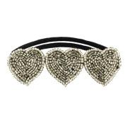 Tassel Paddington Hair Tie, Silver