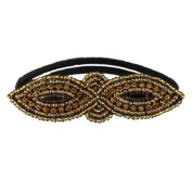 Tassel Surry Hills Hair Tie, Pink Gold