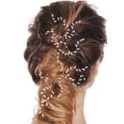 MSLAN Bridal Hair Pins Clips wedding Bridal Hair Accessories for Women Hair Styling
