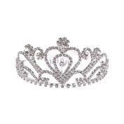 Wedding Rhinestones Pageant Princess Tiara Bridal Headband Pageant Princess Crown