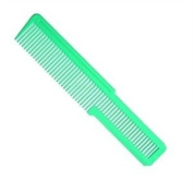 WAHL Flat Top Comb, Florecent Green, Large