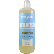 Everyone, Nourish, Shampoo, Health + Happy, 20.3 fl oz (600 ml) - 2pc