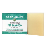 Chagrin Valley Soap & Salve - Organic Natural Dog Shampoo - Creamy Coconut Milk