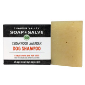 Chagrin Valley Soap & Salve - Organic Natural Dog Shampoo - Cedar Lavender