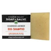 Chagrin Valley Soap & Salve - Organic Natural Dog Shampoo - Cedar Lavender