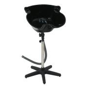 Super Deal Portable Height Adjustable Shampoo Bowl Sink Basin Hair Treatment Salon Tool with Drain