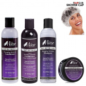 Mane Choice Shampoo, Conditioner, 3 in 1 Conditioner, Edge Control, w/ Free eHairClub Shower Cap