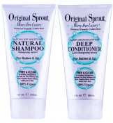 Original Sprout Natural Shampoo & Deep Conditioner 120ml