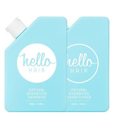 Hello Hair Natural Hydrating Shampoo & Conditioner Duo