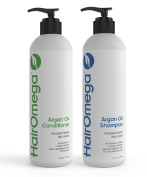 Dr. Formulas Hairomega Argan Oil Restorative Shampoo and Conditioner