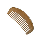 Natural Green Sandalwood Antistatic Wide Tooth Hair Comb