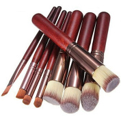 8 Pieces Makeup Brushes Set Professional kabuki Brush Set