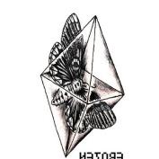 HJLWST 3D Small Fresh Harajuku Tattoo