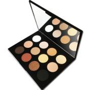 12 Colour Makeup Eyeshadow Palette, Nude Natural Colours by Beauty Bon