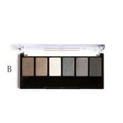 Fheaven Focallure Retro 6 Colours Smoky Eye Shadow Makeup Makeup Kit Charming